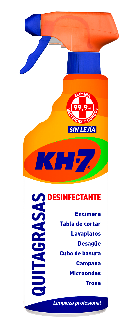 KH-7 Quitagrasas Desinfectante