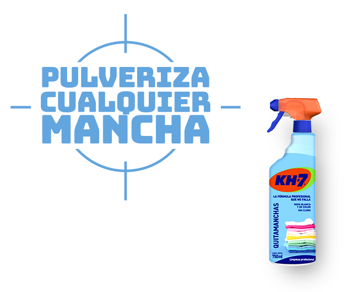 KH7 Quitamanchas. Pulveriza cualquier mancha