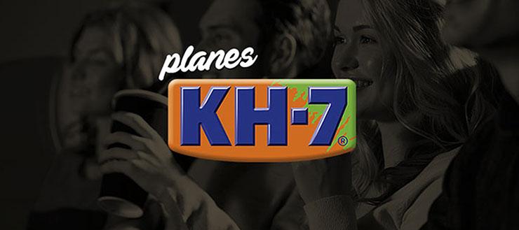Nova promoció, guanya plans gratis amb KH-7!