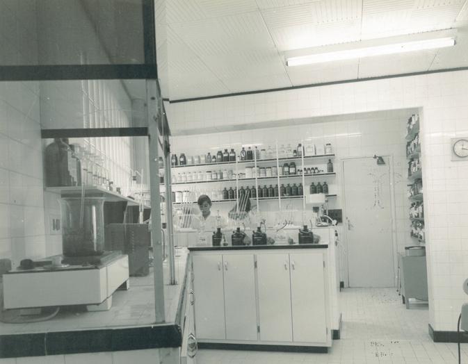 Tercer laboratorio de la empresa y primero de detergentes