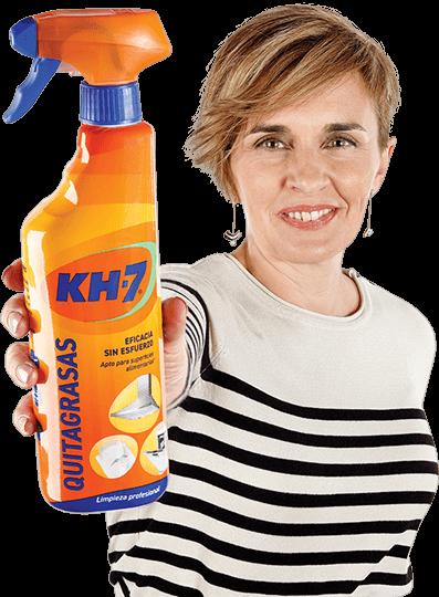 Laura López y KH-7