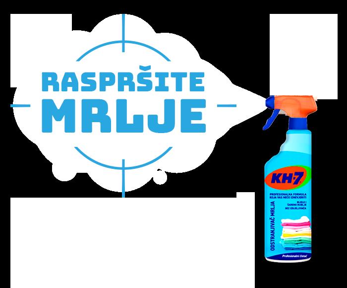 Odstranjivač Mrlja KH7. Raspršite Mrlja