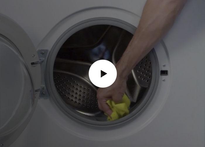 Neteja de la goma de la rentadora