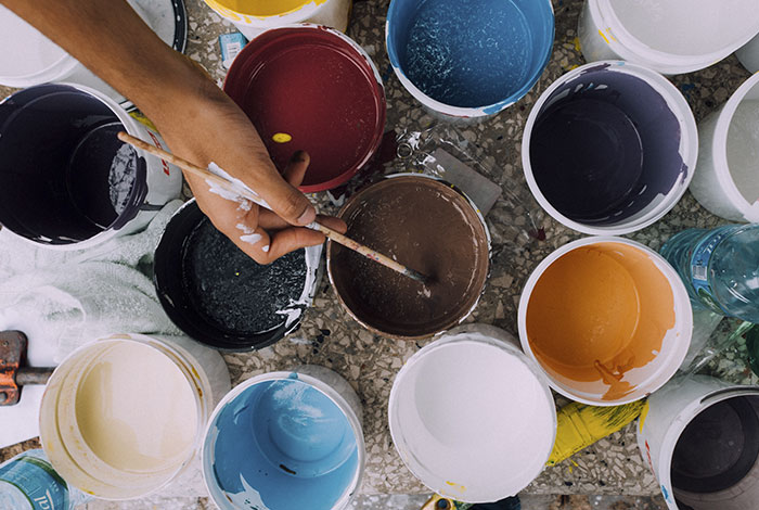 Manchas de Pintura